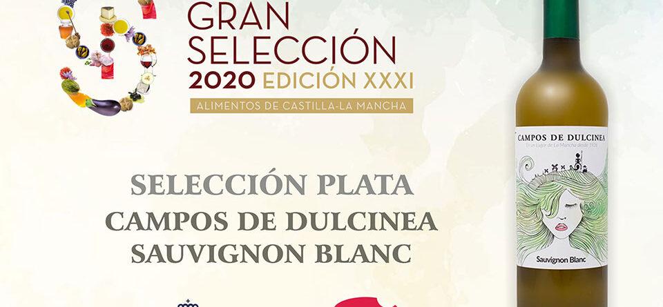 Premio Selección Plata 2020 para Campos de Dulcinea Sauvignon Blanc