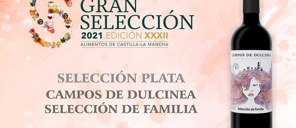 Premio Seleccion Plata 2021 Campos de Dulcinea Seleccion de Familia